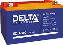 Гелевые аккумуляторы Delta