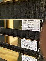 11*18, зеркальное золото - Профиль для декорирования мебели, 305 см, П-образный