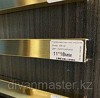 11*18, матовое золото - профиль для декорирования мебели, желтое  305 см