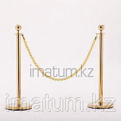 Золотые стойки для церемонии