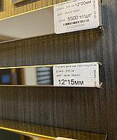 12*15, хром зеркальный - профиль для декорирования мебели,  305 см, П-образный, фото 1