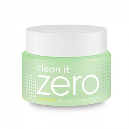 Противовоспалительный гидрофильный бальзам Banila Co Clean It Zero Cleansing Balm Tri-Peel Acid