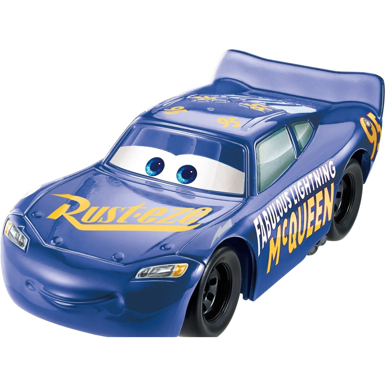 Cars / Тачки Пластиковая модель Стремительный Молния МакКуин, синий, 12.5 см.