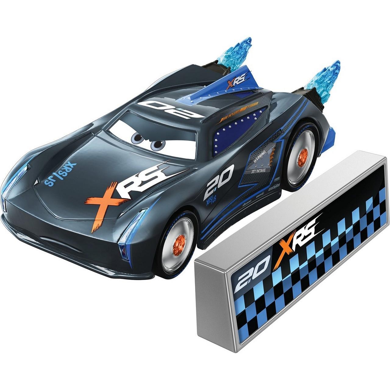 """Cars / Тачки """"Рокетные гонки"""" Джексон Шторм №20 с огненным ускорителем"""