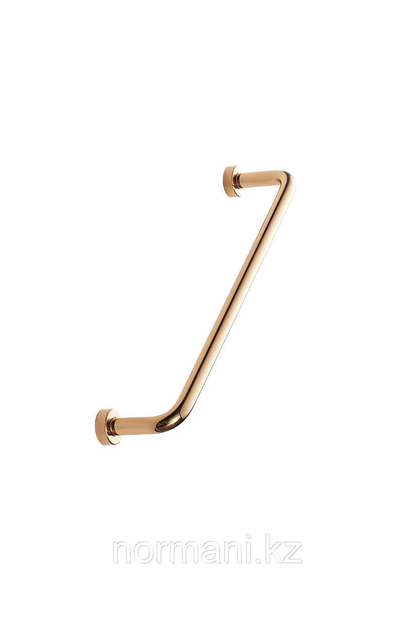 Мебельная ручка скоба отделка золото глянец 160 мм