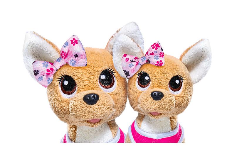 """Плюшевые собачки Simba""""Chi-Chi love"""" Счастливая семья, 2 собачки в сумочке от Simba - фото 2"""