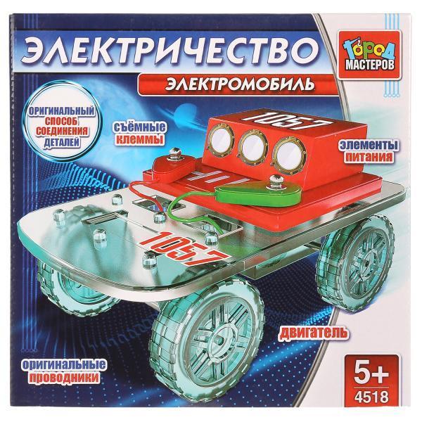 GM. Электронный Конструктор Город Мастеров «Электромобиль»