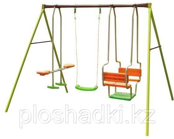 Детский комплекс качели, подвесные, лодочка