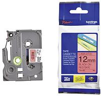 Лента TZe-431, черным на красном, для принтеров Brother PT-1010, PT-1280VP, PT-D200VP, PT-E100VP и пр.