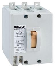 Выключатель автоматический ВА21-29 0,6А 1,5Iн КЭАЗ