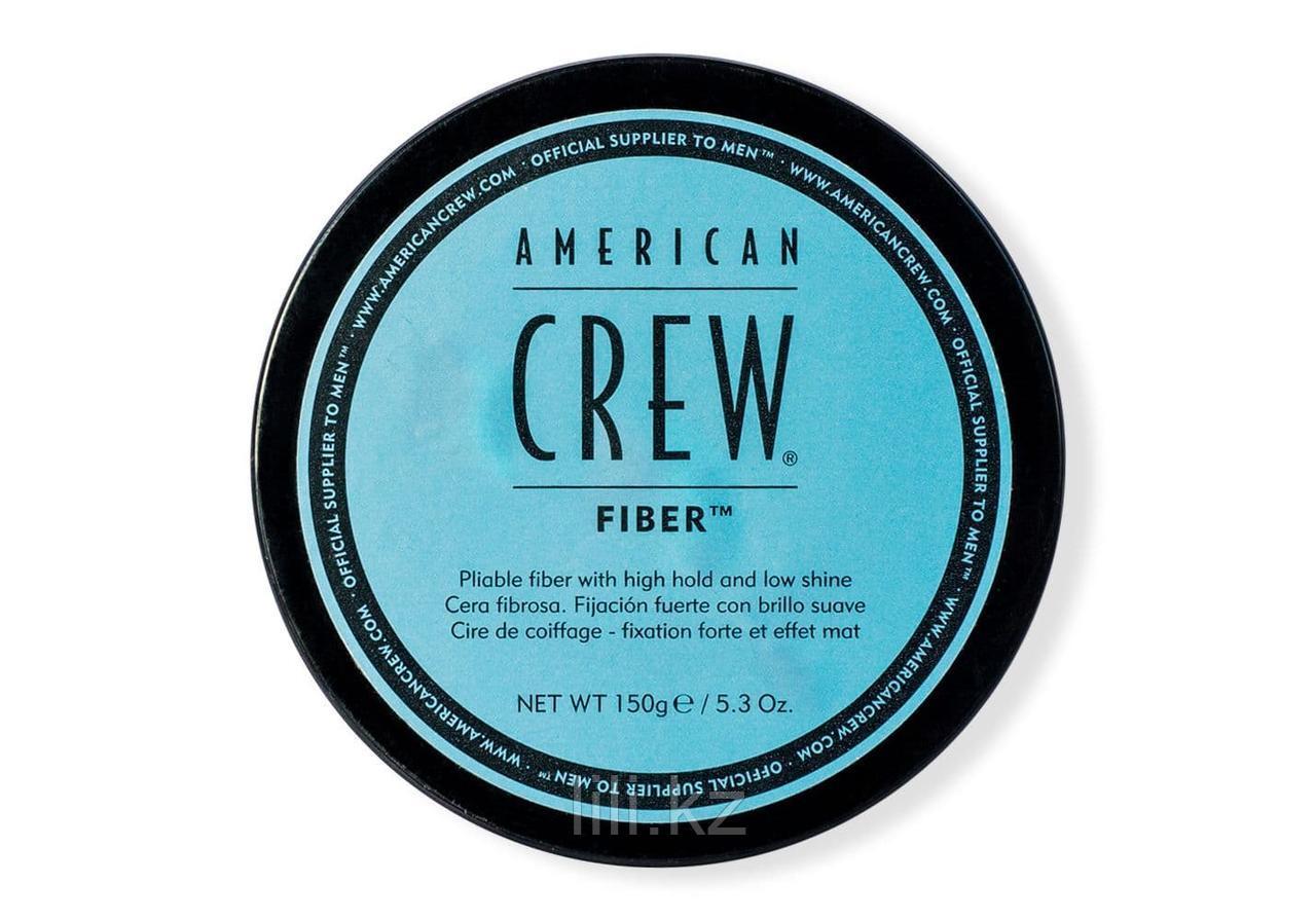 Паста высокой фиксации с низким уровнем блеска, великолепно подходит для укладки усов American Crew Fiber 150