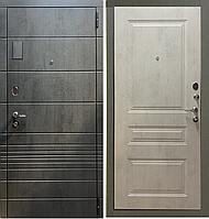 Входная металлическая дверь СанПьер серый камень