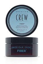 Паста высокой фиксации с низким уровнем блеска, великолепно подходит для укладки усов American Crew Fiber 85 г