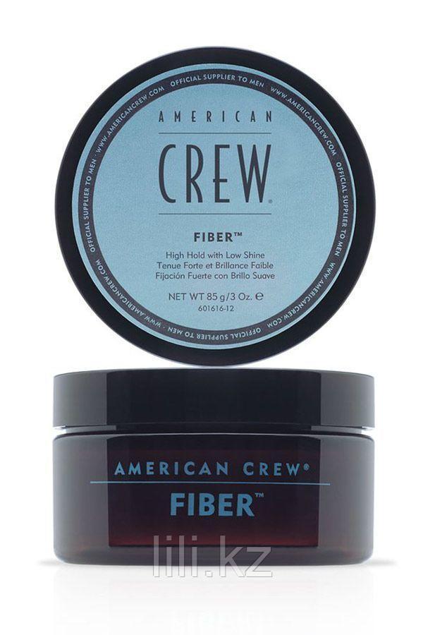 Паста высокой фиксации с низким уровнем блеска, великолепно подходит для укладки усов American Crew Fiber 85 г - фото 1