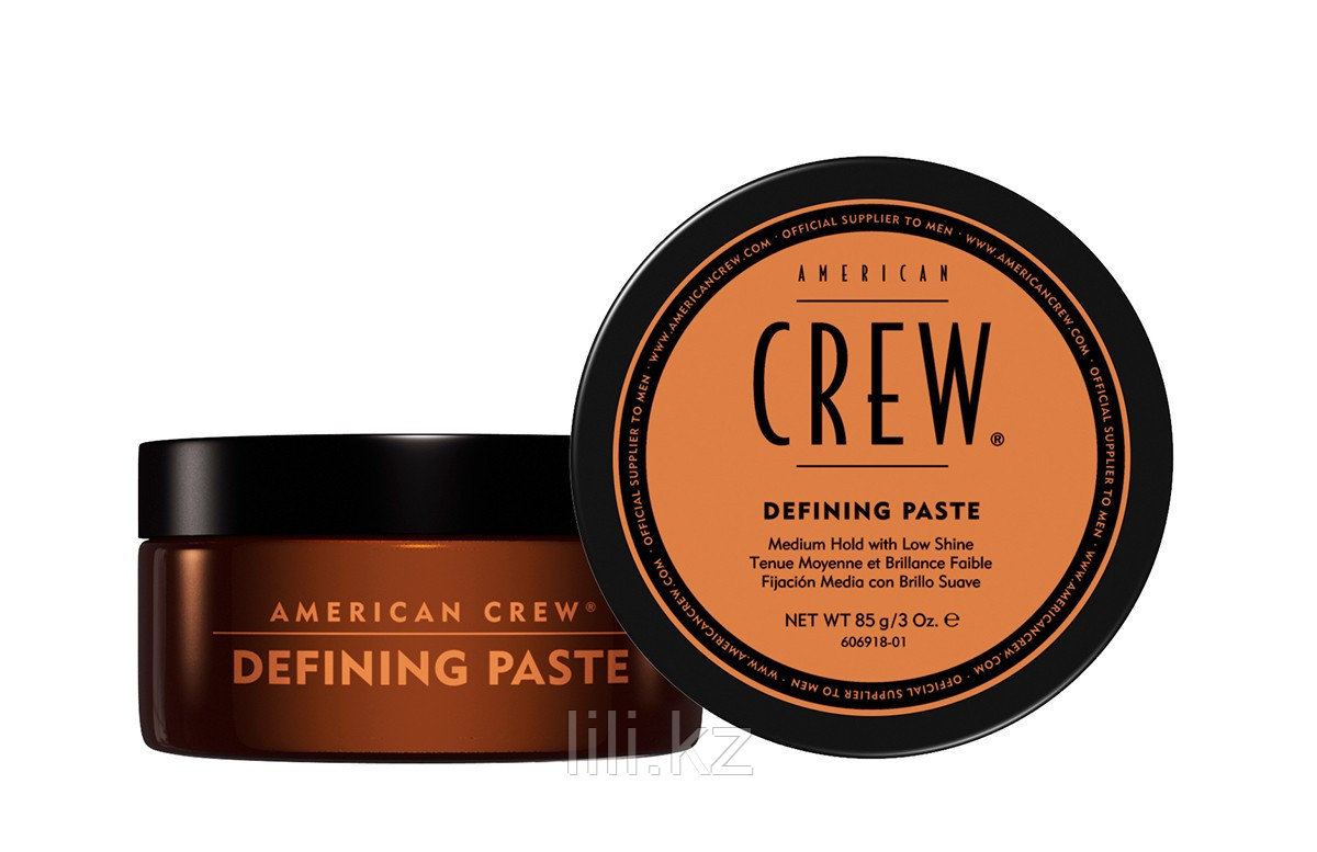 Паста для укладки волос, средней фиксацией и низким уровнем блеска American Crew Defining Paste 85 гр.