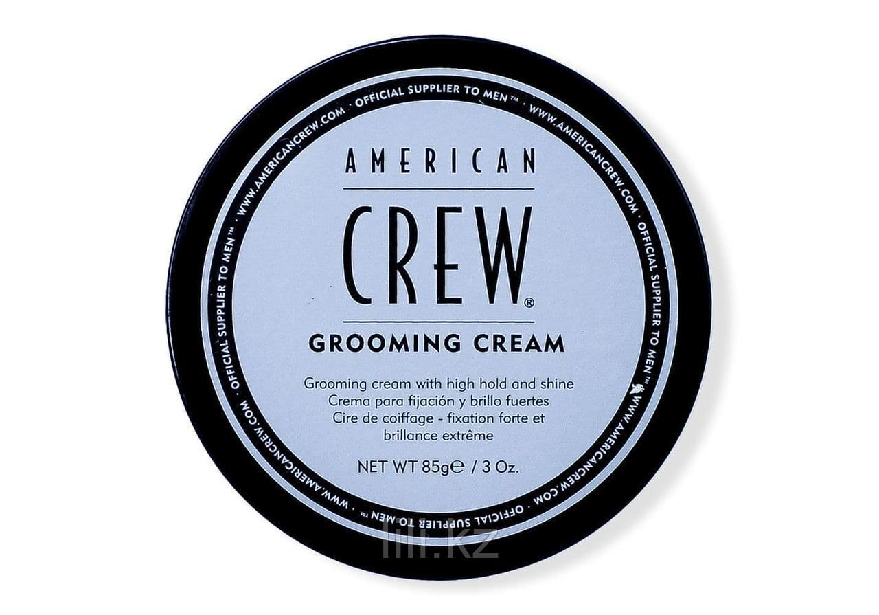 Крем сильной фиксации и высоким уровнем блеска для укладки волос и усов American Crew Grooming Cream 85 г.