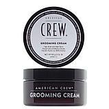 Крем сильной фиксации и высоким уровнем блеска для укладки волос и усов American Crew Grooming Cream 85 г., фото 2