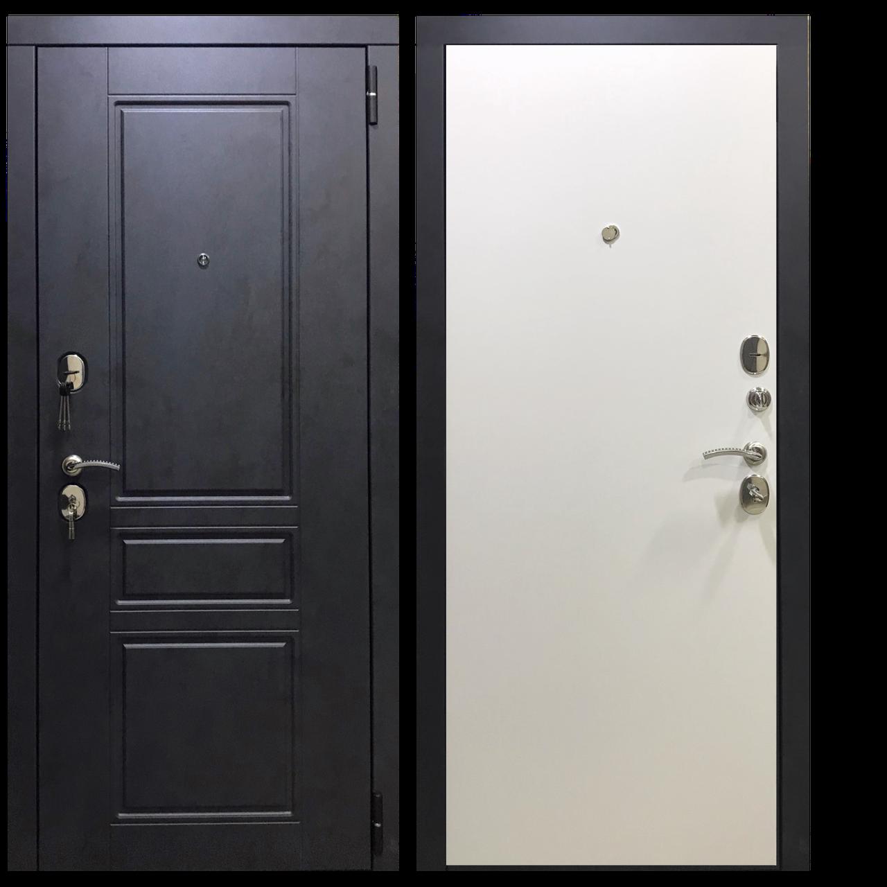 Входная металлическая дверь Марс бетон