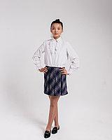 Блузка на девочку от школьной формы 26-36