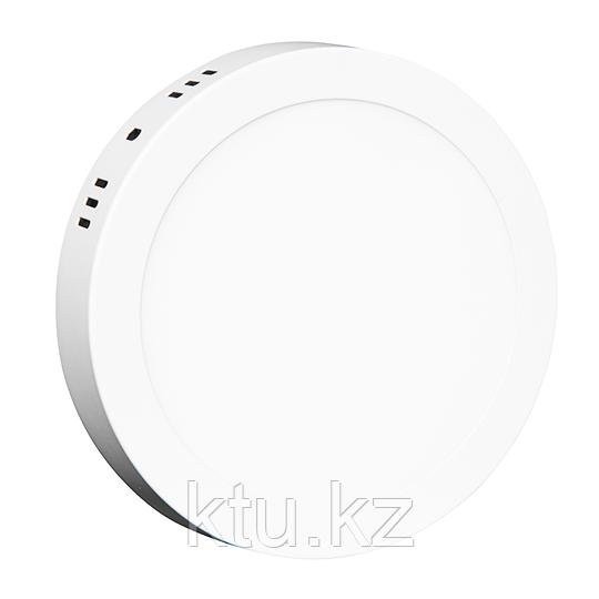 LED СПОТ ROUND/S накладной 18W 1440Lm d210x30 6500K IP20 MEGALIGHT (20)