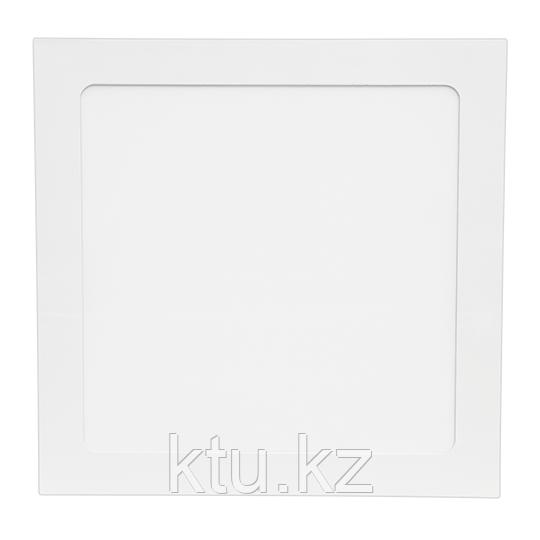 LED СПОТ KVADRO/R встраиваемый   7W 560Lm 120x120x8,5 4000K IP20 MEGALIGHT (100)