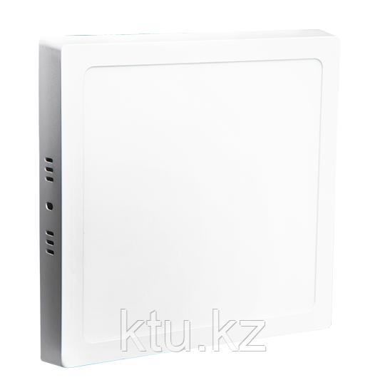 LED СПОТ KVADRO/S накладной 24W 1920Lm 280x280x30 6500K IP20 MEGALIGHT (20)