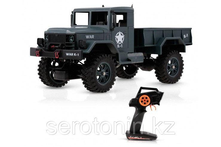 Радиоуправляемый внедорожник WL Toys Army Truck 4WD RTR масштаб 1:12 2.4G - WLT-124301