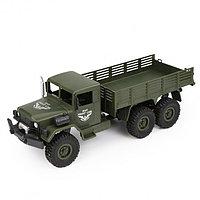 Военный грузовик на радиоуправлении Полный привод JJRC Transporter Q63 1:16, фото 1