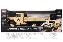 Машинка на радиоуправлении MZ Грузовик Army Truck M35 6x6 1:12