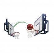 Ферма для щита баскетбольная измен высота (305 - 260см)