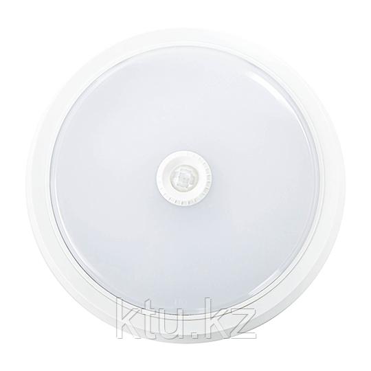 LED ДПО REFLEX 15W (ИК датчик движения) 1500Lm d250x50 IP20 4000K MEGALIGHT (20)