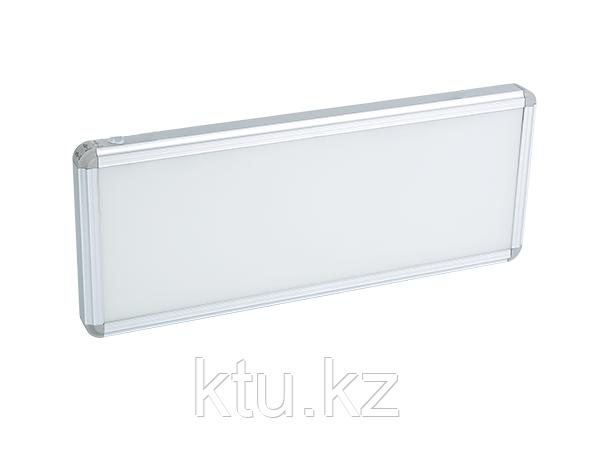 LED ДБА EXIT без пиктограммы (белый) 3W 363x152x23 (батарея 1,5 часа) MEGALIGHT (20)
