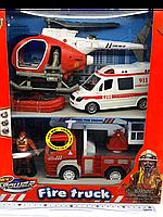 Детский набор спасательных служб