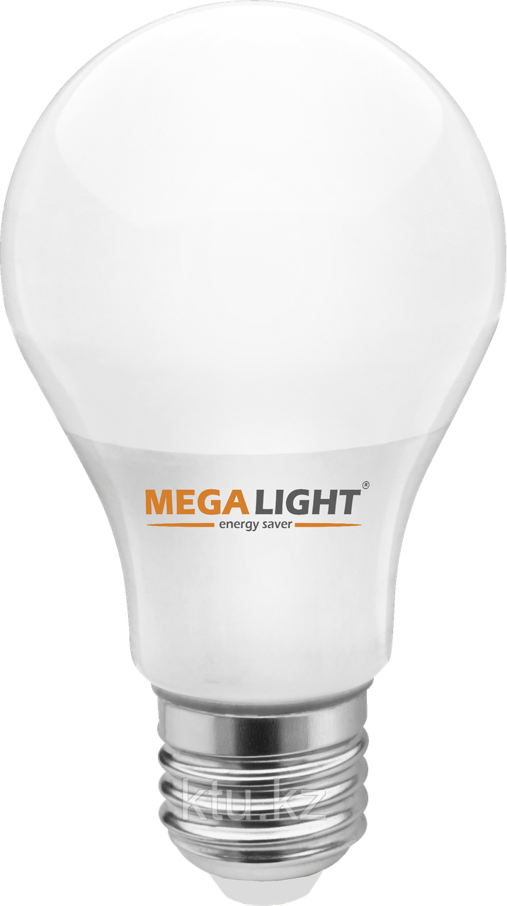 """LED ЛАМПА A60 """"Standart""""   9W 810Lm 230V 4000K E27 MEGALIGHT (100)"""