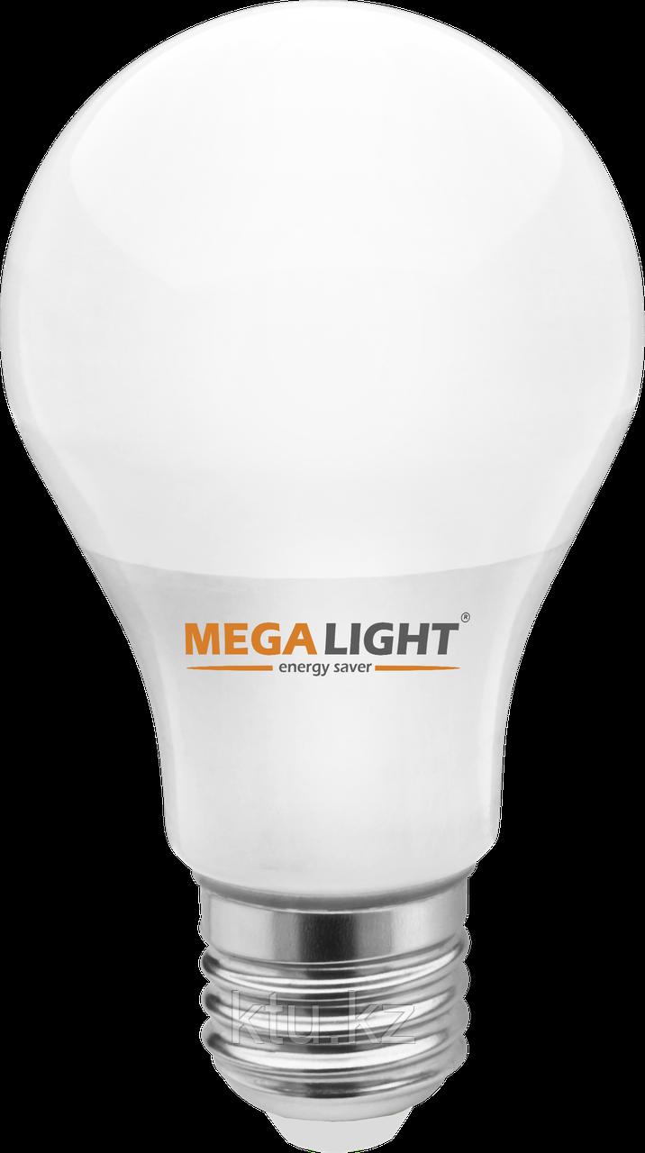 """LED ЛАМПА A60 """"Standart""""   9W 810Lm 230V 6500K E27 MEGALIGHT (100)"""