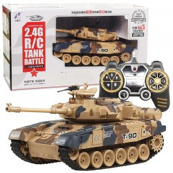 Игрушечный танк 2.4G R /C Tank Battle lichengfeng Tank