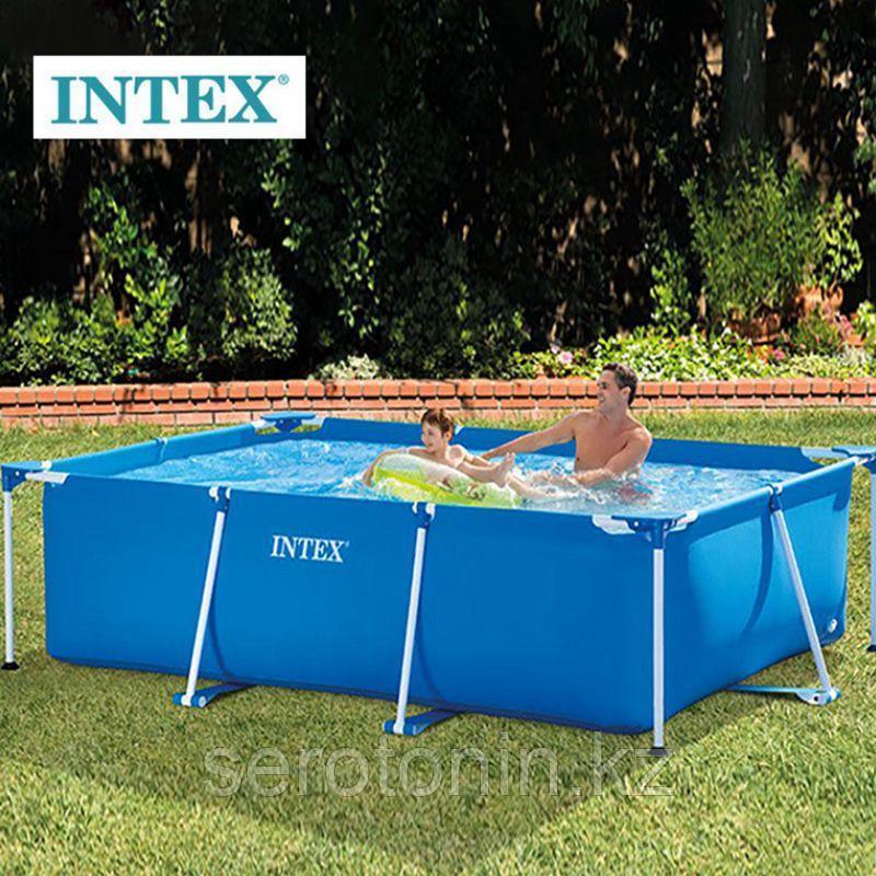 Бассейн каркасный INTEX Rectangular Frame Set (3.00м х 2.00м х 75см)
