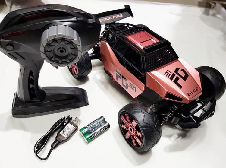 Машинка  READY STOCK Remote Control car 2WD high speed