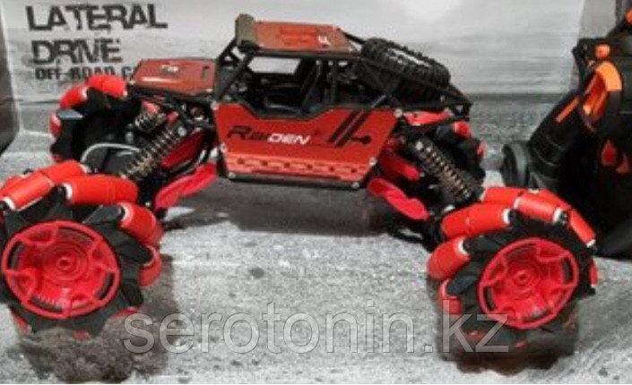 Большая трюковая машинка вездеход багги дрифт колёса 360° р/у 4WD