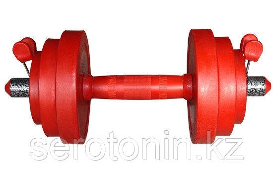 Гантель красная 16 кг. Россия