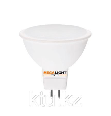 "LED ЛАМПА MR16 ""Spot"" 5W 450Lm 230V 6500K GU5.3 MEGALIGHT (10/100)"