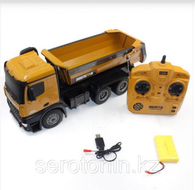 Самосвал игрушечный на пульте управления