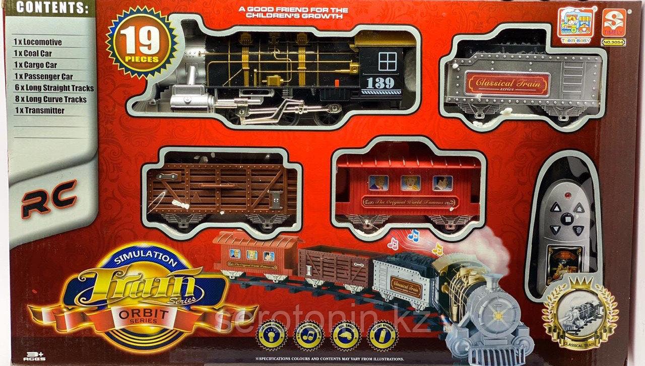 Радиоуправляемый поезд