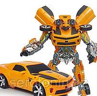 Робот-магнат с деформацией HALO NATION® - 35 см. Огромный трансформер Шмель