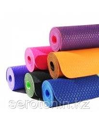 Коврик для йоги 180*60*0,6см ПВХ - фото 2
