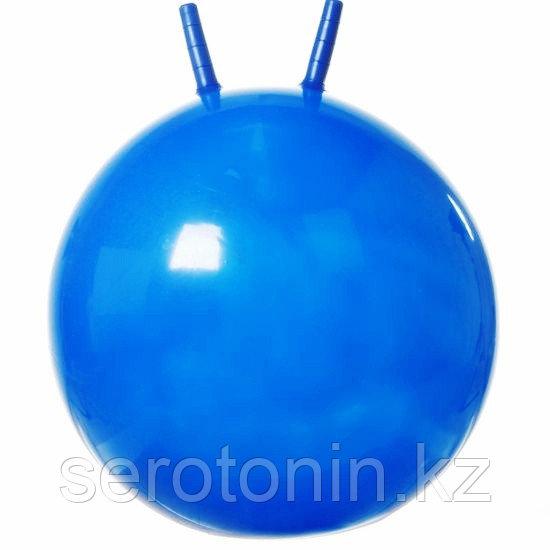Мяч гимнастический 55 см с рожками - фото 1