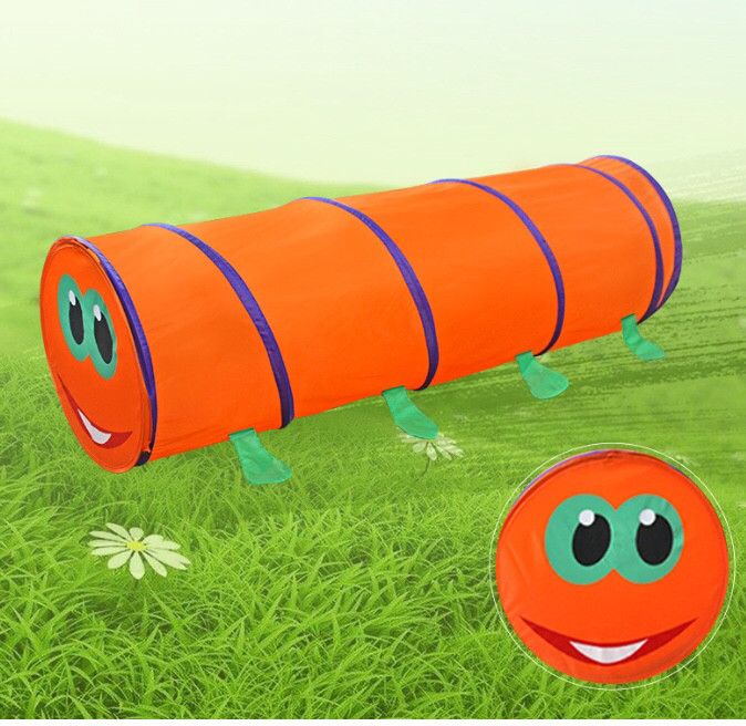 Детский тунель гусеница