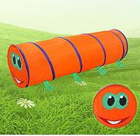 Детский тунель гусеница, фото 1