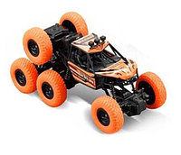 Машинка аккумуляторная внедорожник на радиоуправлении 1:14 Racing ZR2077 Kronos Toys 4WD 6 колес Оранжевый, фото 1