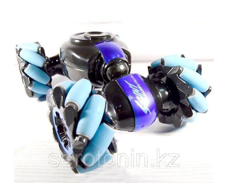 Машинка-перевертыш Super Double Flip 2в1. Управление руками и пультом